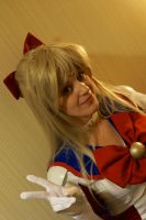 Sailor V at the CON-G! #2 by Lightning--Baron