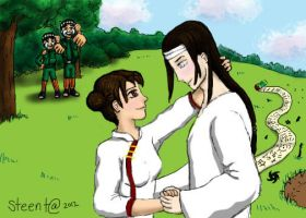 Finally Neji and Tenten by steenta