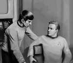 Kirk and Spock - TOS by DreamyArtistRoxy3