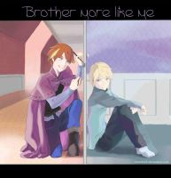 A Brother More Like Me [GenderBend] by cosmic23