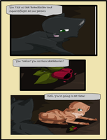 Hollyleaf and Leafpool Comic by Dawnfirelunah
