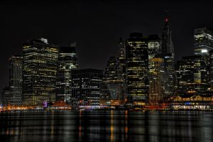 NY Big Apple I by Aerostylaz