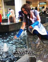 Katara's waterbending by Kimmi-Cosplay