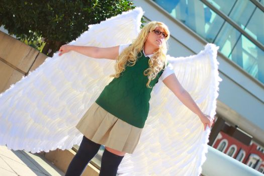 Otakon 2013 - Aziraphale(PS) 37 by VideoGameStupid