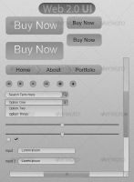 Web 2.0 UI by Roeven