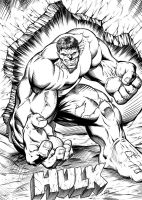 Hulk Smash by RAM by robertmarzullo