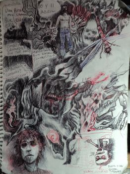Sketchbook 007: Spontaneously but... by Cynic-Al