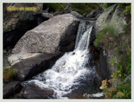 Little waterfall by leire-and-Co
