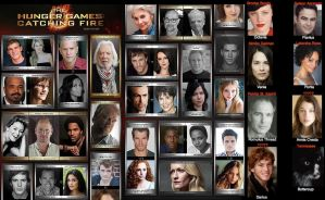 The Catching Fire Cast by BoyWithAntlers