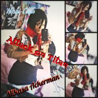 Mikasa Ackerman Cosplay! by Star1147