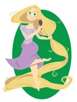 Disney Princess - Rapunzel by spuds-n-stuff