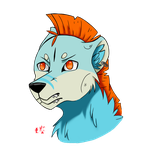 Astor The Haundi Headshot by Ikuzram021