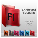 Adobe CS4 Folders by cclloyd9785