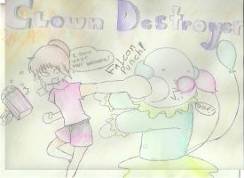 Clown Destroyer, Ri-Cha! by BDOG375