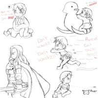 Baby Prussia Sketches by Steampunky-Bunny-Boo