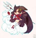 Commission: Ahri x Jax 1 by 5-ish