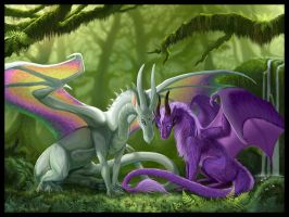 Friends by jaxxblackfox