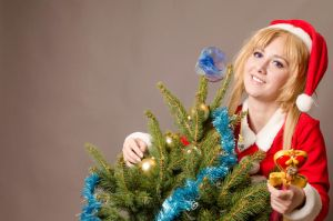 Usagi Tsukino - Christmas by smallchan