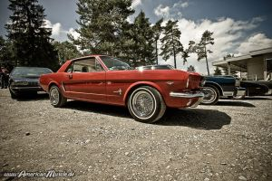 RED Pony by AmericanMuscle