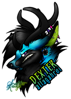 DEXTER Badge by ScottieRouge