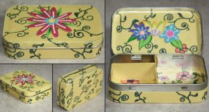 Flower and Vines Box by elvaniel
