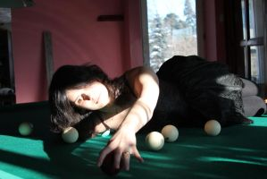Maya and billiard 11 by Panopticon-Stock