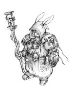 rabbit Inquisitor by muaythai40000