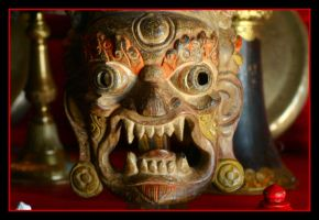 Tibet Mask by lugnut138