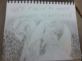 Together! by SyvaTheWolf123