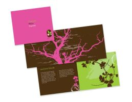 brochure menu by manriquez
