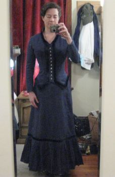 victorian work dress 2 by hollymessinger