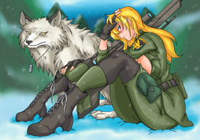 Sniper Wolf by Ray-D-Sauce