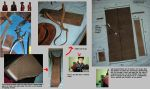 TF2 Sniper real leather quiver by greenzaku