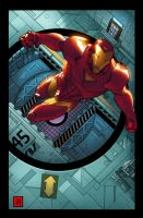 Marvel adventures- Iron-Man 1 by jamescordeiro21