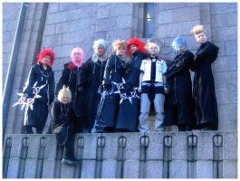 Organization XIII Cosplay by fiatzio