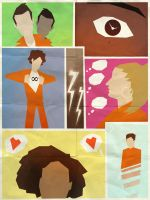 Misfits minimalist poster by Andry-Shango