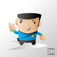 First Officer Spock by DanielMead