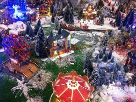 The Christmas village 03 by ZeFrenchM