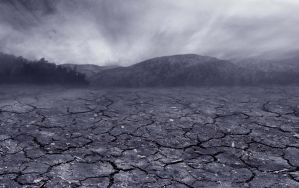 Cracked Earth 2 Stock Photo- Premade Background by annamae22