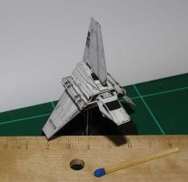 Shuttle Tydirium - Star Wars miniature by SarienSpiderDroid