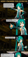 MMD Miku Crosses the Rubicon by Trackdancer