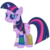 Twilight Sparkle Vector - Technician by Anxet