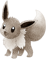 Shiny Eevee by RougeSulfura