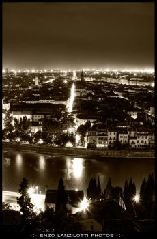 Verona Night Lights by Brompled