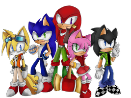 .:Request: Sonic4ever760:. by VaniHedgehog