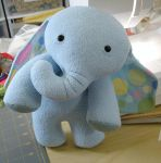 elephant by sewingstars