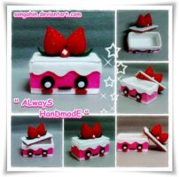 My Cute Strawberry Cake Box... by SongAhIn