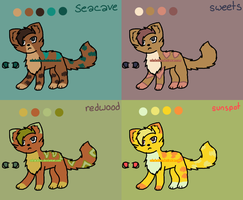 Adoptable Sheet 7 by Adrakables