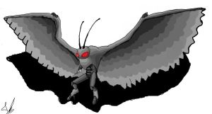 legends reborn: mothman by Blabyloo229