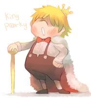 King Porky by sweating